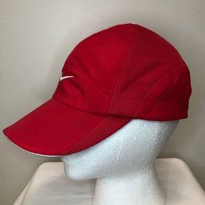 Nike Featherlight Dri-Fit Red Cap